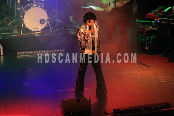 Singer on stage 01