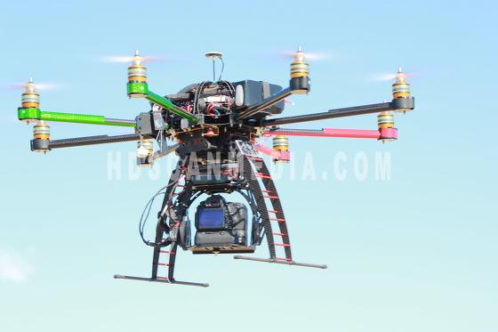 Oktokopter, copter, drone 9