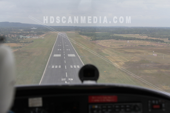 Flyg över skåne