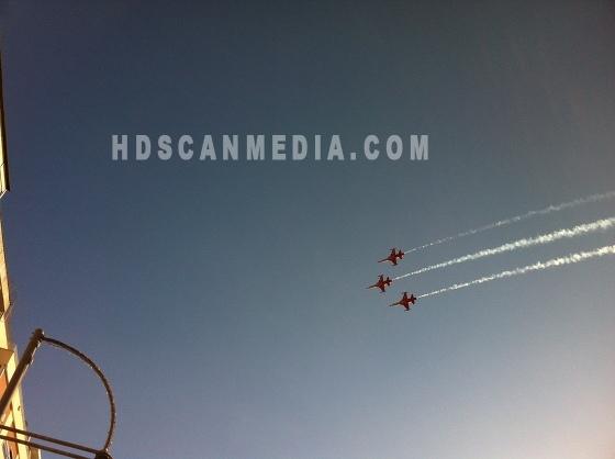 Flyguppvisning - Turkiet Izmir