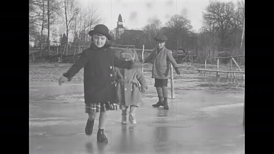 Barn på is #1