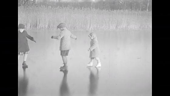 Barn på is #2