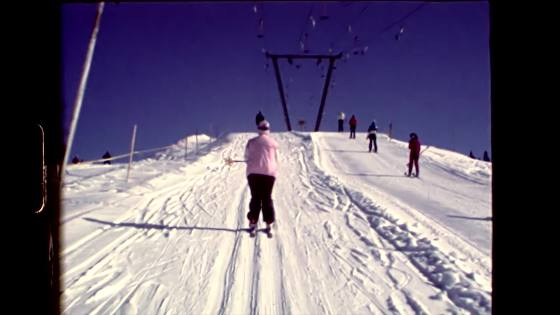 People in Ski lift