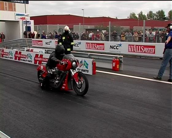 Dragster motorcycle