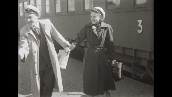 Par åker tåg