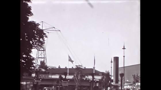Karusell Folkets Park Malmö 1949