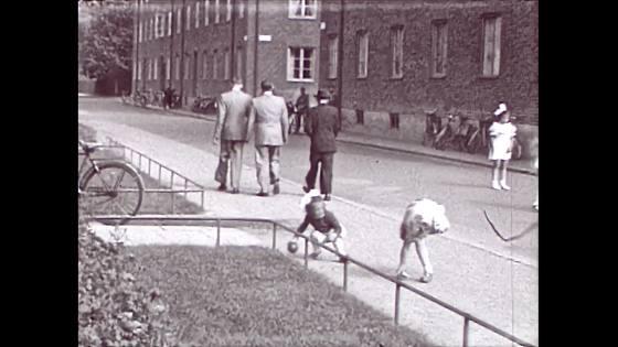 Barn på gata i Malmö 1