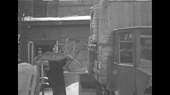 Flyttlastbil år 1933